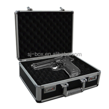 Hot sale aluminum gun case with foam for good quality