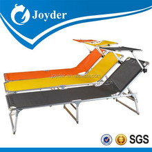 Single folding bed in stainless steal on wheels