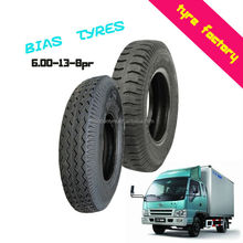 6.00-13-8PR excellent traction durable wear resistance light truck bus tyres TBB tires
