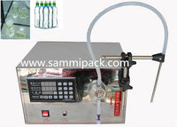 SM-LT-I Single Pump Liquid Filling Machine with limitless filling