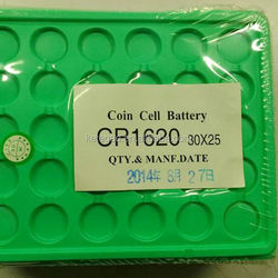 CR1620 60mAh button cell batteries