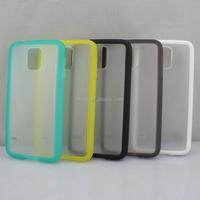 For Samsung Galaxy S5 Antislip Antiskid Matte Soft Tpu PC Back Case