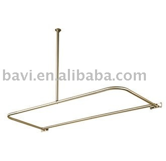 d type shower curtain rod buy shower curtain rod product