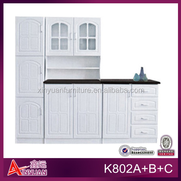 Ready made pvc kitchen pantry cupboards buy kitchen for Ready made kitchen cupboards