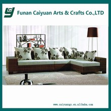 Plastic rattan new design modern fashion home furniture sofa