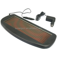Low cost 1.5W solar panel car battery charger