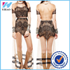 Yihao New desgin Sexy Women Summer-Casual Party Evening Party Dress long in lace
