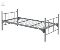 Cheap Morden Heavy Duty Metal Single Army Bed for Sale