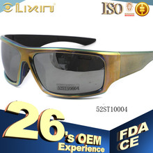 China New design Plastic sunglasses suncristal branded 52ST10004 model number,27 Years OEM experience