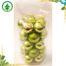 Best selling well box packaged christmas ball , plastic chrismtas tree decoration