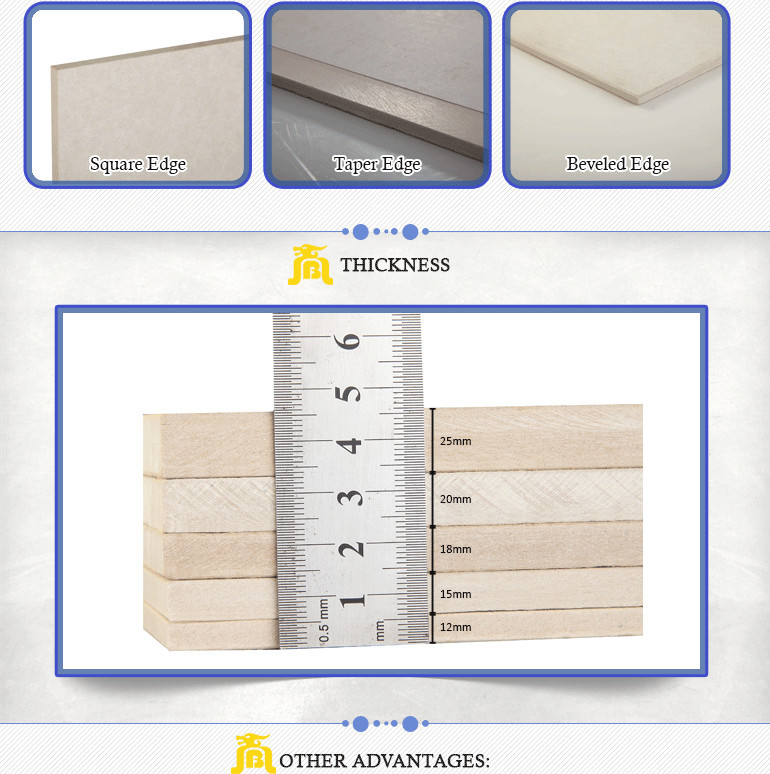 Gypsum Board Substitute Thermal Insulation Waterproof