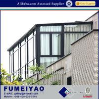 Brilliance high quality extrude aluminium frame glass house