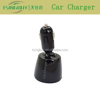2015 new arrival 4 in one 5V/5A usb car charger 2 port