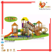Kids wooden playground equipment TX3070C