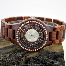Fashion wooden watch,high quality ,waterproof, custom design wood watch