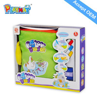 Best Educational Toys Safe Non-toxic Baby DIY Product China Baby Story Book EN71 RHOS 6P AZO