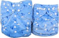 Ohbabyka good quality Washable Big Size Baby Diapers