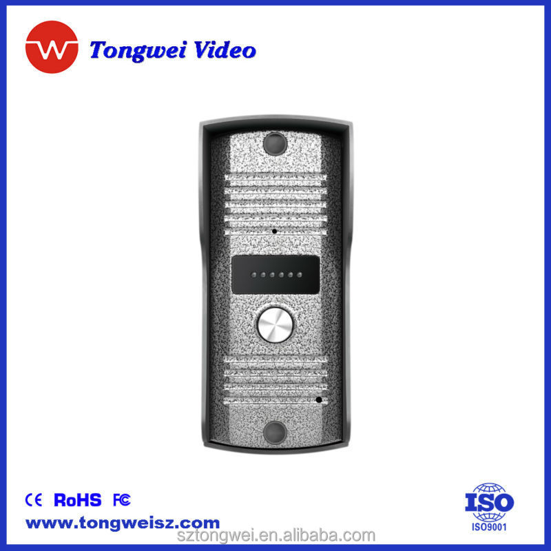 Door Buzzer Entry Systems 8'' Buzzer Entry System Video