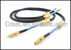 Siltech G7 EMPRESS Cable Double crown RCA Audio cable RCA TO RCA Cable
