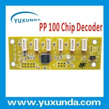 PP100 chip decoder with refillable cartridges