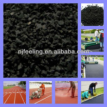 Black Crumb Rubber Granule and Fine Powder Made from Used Tires -FN-D150331