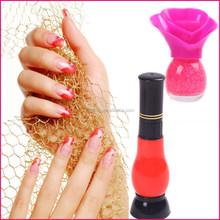 wholesale 2015 no label Crazy hot cheap Nail Art games easy soak off top coat nail polish color names