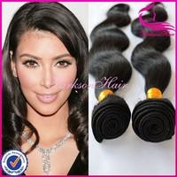 Wholesale cheap 100% short brazilian weave 3pcs 16inch real tangle free brazilian virgin human hair weave