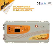 Best selling solar home system kit 3500va 24v dc to ac off grid solar pv inverter