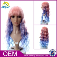 New design fashion red/blond/brown box braid wig synthetic u part wig full lace full lace wig sew in hair wig