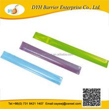 wholesale reflective slap bracelets promotional gift for Kids