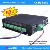 DMX to WS2801 DC5V-24V Decoder DMX512 controller dmx512 LED Driver