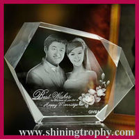 wholesale engraved crystal gifts HDG1019