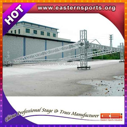 ESI TUV certificate heavy duty outdoor cncert event aluminum flat roof truss with sound wings
