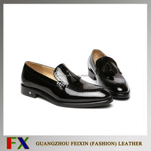 brand men genuine leather dress shoes / Italian style loafer shoes fashion