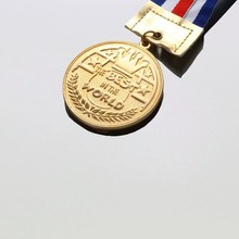 factory price custom made Medal with gold painting for sale
