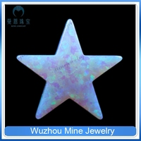 fashion jewelry stone bracelet lab opal white opal five point star shape price of white opal stone