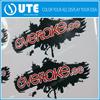 New design pvc stickers/Beautiful clear pvc sticker/customized die cut pvc sticker