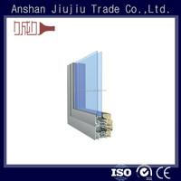 Latest tight tolerance 6063 t5 anodizing aluminum frame glass door parts