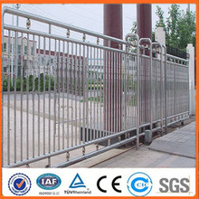 2015 hot sale Artistic Wrought iron sliding gate design(manufacturer)