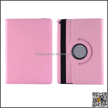 rotating laptop leather case for ipad 6, new product leather cover for ipad air 2