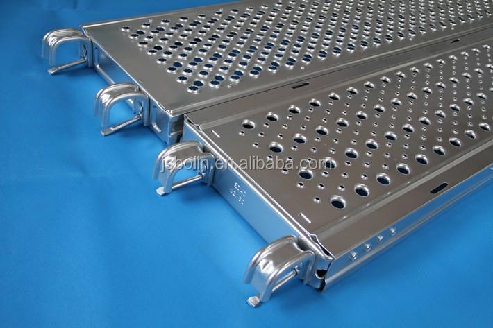 Steel Toe For Scaffolding Boards : Factory sales scaffolding steel toe board with hook used