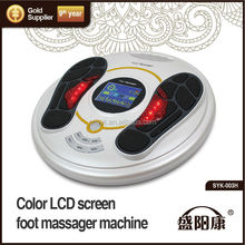 2015 new style electric foot massager manual /foot massager machine shiatsu gold supplier