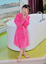 Child Microfiber evening robes bathrobes for home