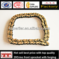 Universal golden 428 Motorcycle tire chain , chain sprocket bracelet motorcycle part