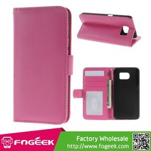 Magnetic Flip Leather Case for Samsung Galaxy S6 SM-G920