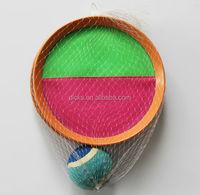 19cm club velcro racket,beach velcro rackets,beach velcro catch ball game for kids