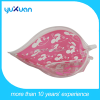 CMYK printing pvc zipper bag