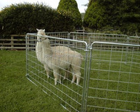 Heavy Duty Galvanized Portable Goat Fence Panels