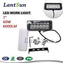 """60w 7"""" led work light for ATV UTV 4WD 4x4 offroad led driving light led 661"""