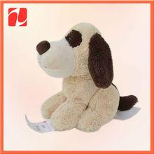 "Classic Sherlock Puppy Plush Dog Basset Hound Brown White 10"" Plush 1997"